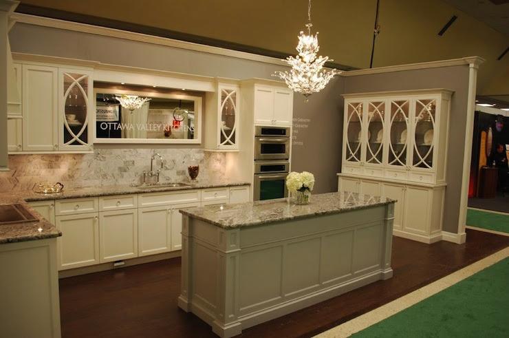 Cream Cabinets - Transitional - kitchen
