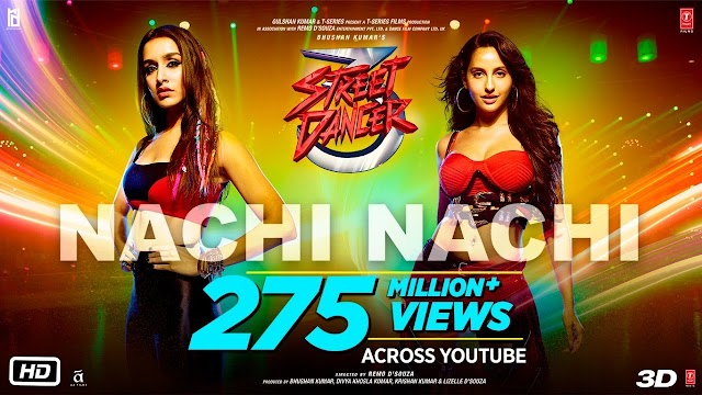 NACHI NACHI LYRICS - Street Dancer 3D