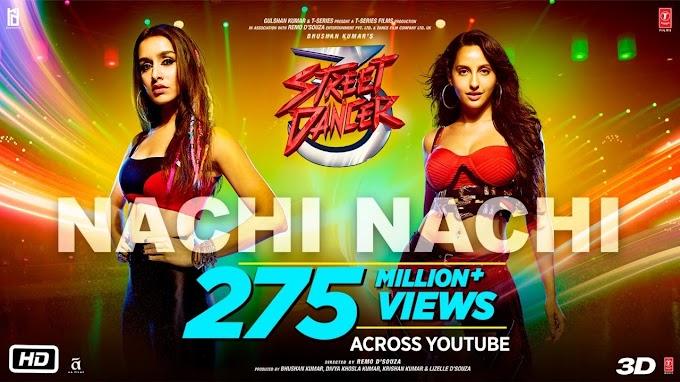 Nachi Nachi Song Lyrics|Street Dancer 3D |Varun D, Shraddha K | Neeti M,Dhvani B,Millind G | Sachin-Jigar
