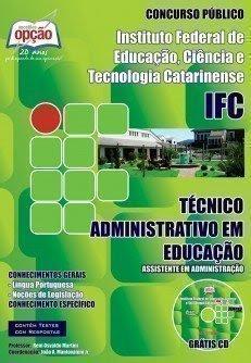 Apostila IFC Catarinense (SC) para Assistente Em Administração.