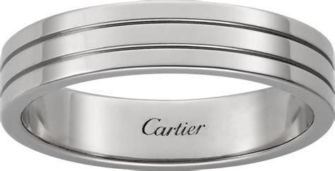CRB4222500   Trinity de Cartier wedding band   White gold