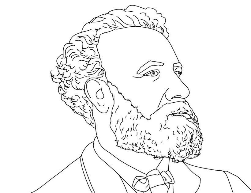 Dibujos Para Colorear Julio Verne