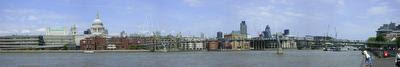 Photo of the Square Mile from across the Thames, London, United Kingdom, taken on 2009-05-10