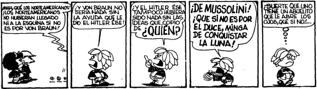 Von Braun, mi supervillano favorito - Miguelito y Mafalda