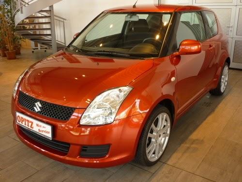 Sunlight Copper Swift - a great looking car !!