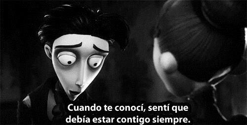 Tim Burton Quotes Amor Not Mine We Heart It Spanish Frases De Amor