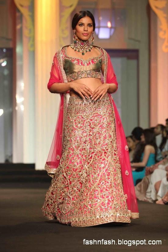 a11f66e78ea Indian-Pakistani-Bridal-Wedding-Dresses-2012-13-Bridal- Bridal Wedding  Embroidered Lehangaa Dress