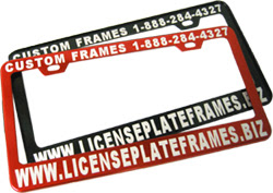 Custom And Blank License Plate Frames Manufacturer For Automobiles