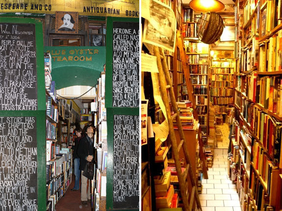 shakespeare paris 2 The Worlds 6 Coolest Looking Bookstores