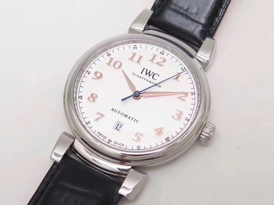 Replica IWC Da Vinci Leather Watch