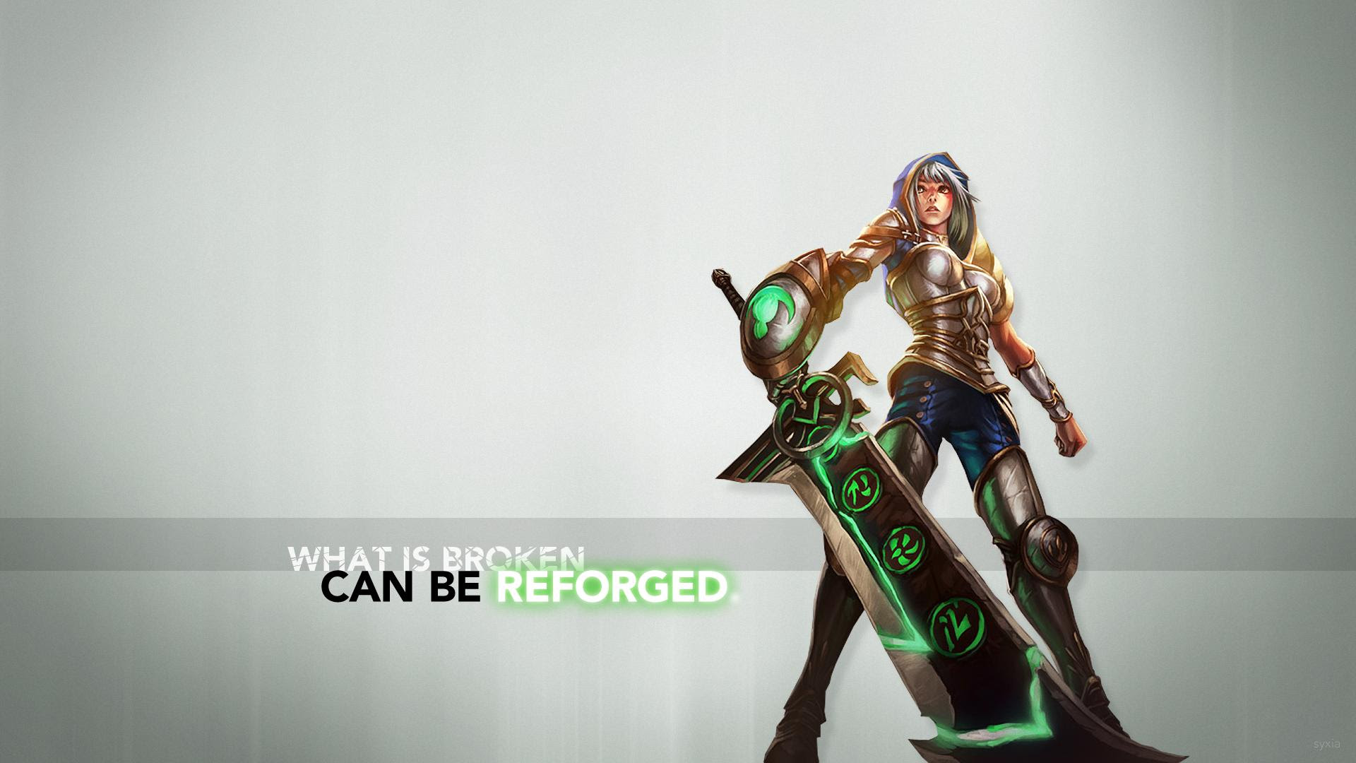 Riven Wallpaper As Requested Leagueoflegends