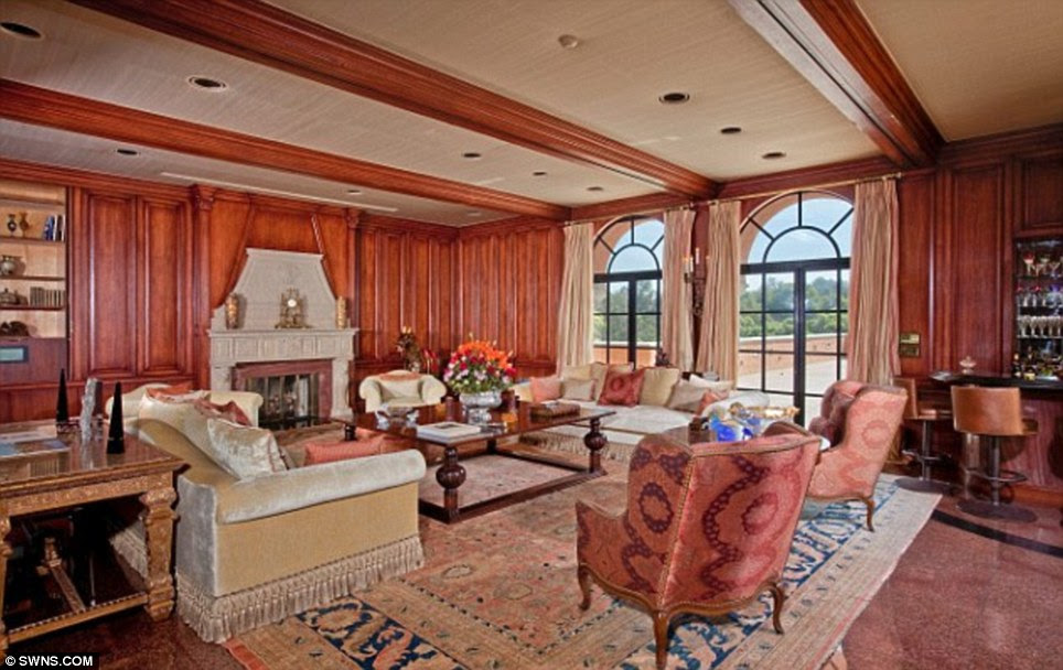 Historic: The home was built in 1925 by architect Gordon Kaufman, who is best known for his work on the Hoover Dam