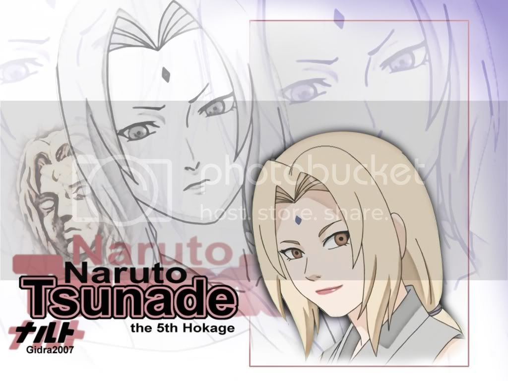 Tsunade Anime Wallpapers and Pictures
