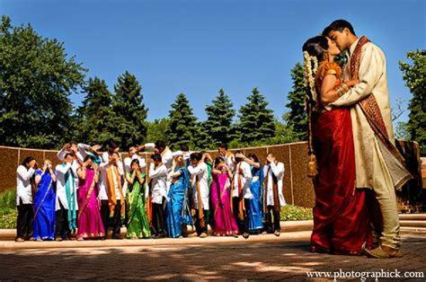 indian wedding portraits bridal party