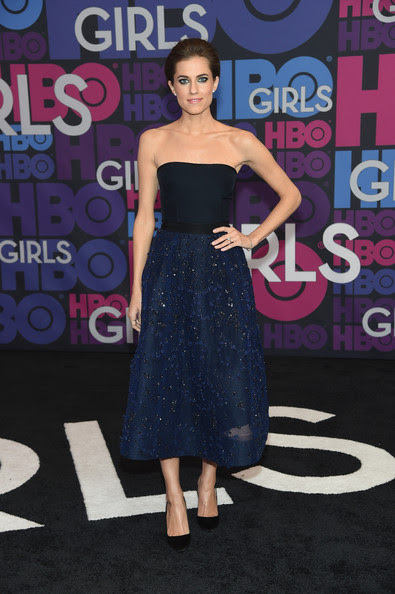 Allison Williams - 'Girls' Season 4 Premiere in NYC