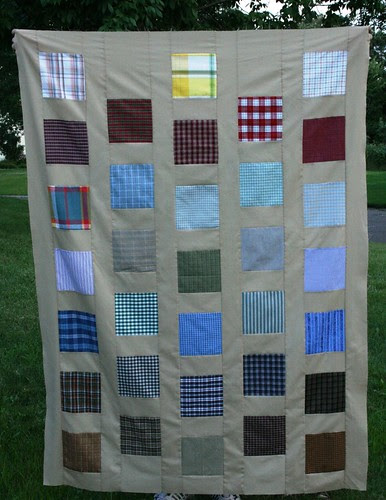 i love plaid! quilt, version one