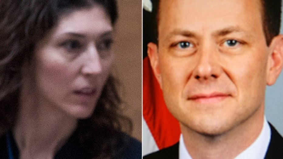 Peter Strzok and Lisa Page exchanged anti-Trump texts for months.
