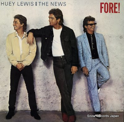 LEWIS, HUEY AND THE NEWS fore