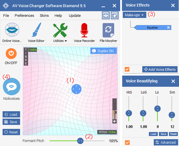 Download Voice Changer Diamond