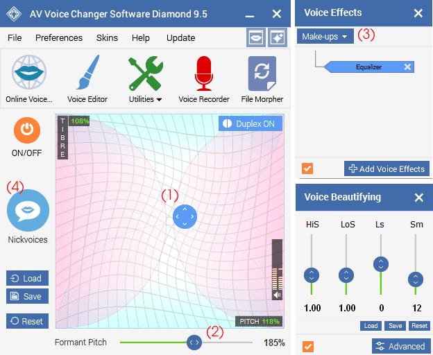 Download Voice Changer Diamond