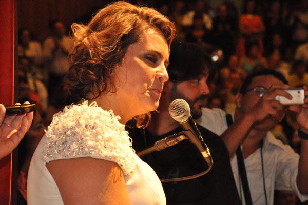 Cláudia Regina, prefeita eleita em 2012