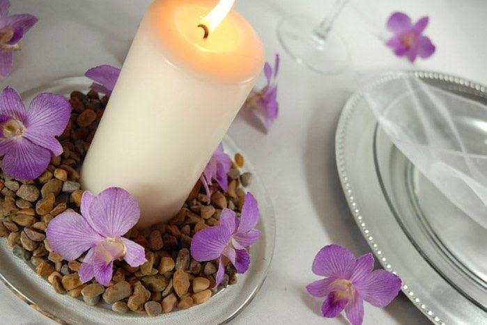 Orchidées Pour Décoration De Table De Mariage Mariage Idées