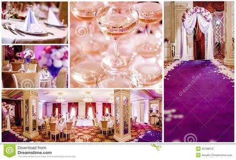 Wedding collage stock photo. Image of empty, design
