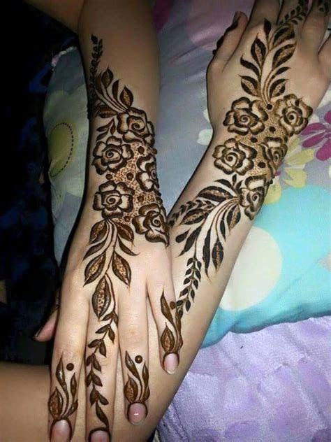Floral Henna Designs For Hands   Fashion Beauty Mehndi