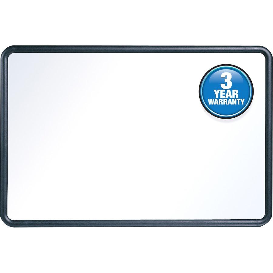 Quartet Contour Whiteboard 4 X 3 Black Frame Kopy Kat Office