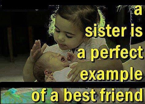 A Sister Is A Perfect Example Of A Best Friend Commentphotoscom