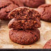 ciasteczka orzechowo-kakaowe