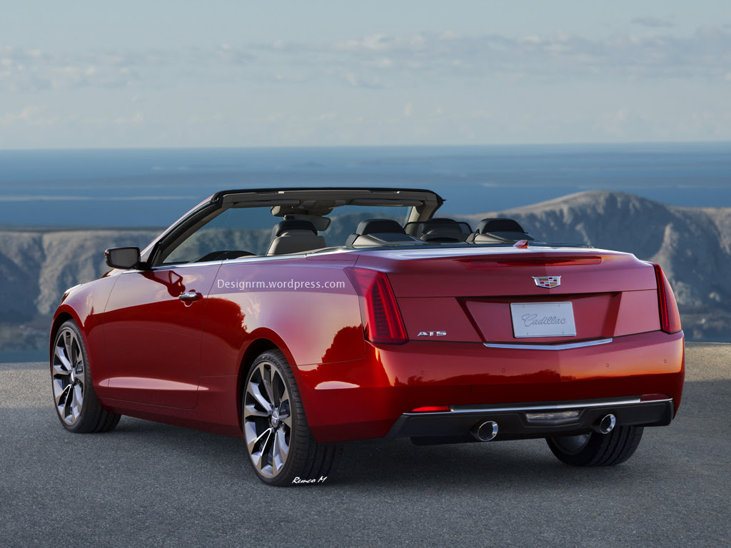 2015 Cadillac ATS Convertible Rendering - autoevolution