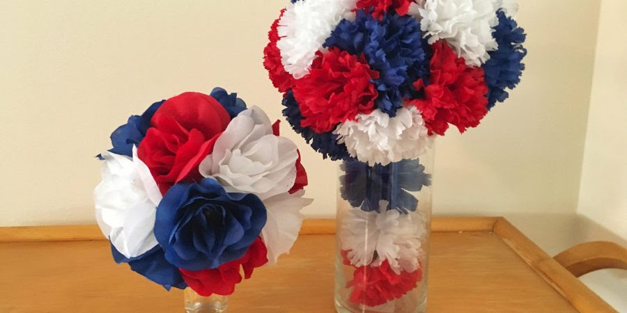Artificial Flower Centerpieces  Sweet Ds Creations
