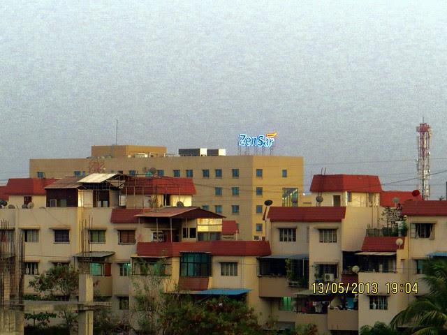 View from Le Reve, 2 BHK & 3.5 BHK Flats in 22 Story 2 Towers, adjoining Radisson Hotel, Kharadi Hadapsar Bypass, Kharadi, Pune 411 014