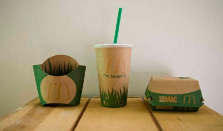 Resultado de imagen de mcdonalds envases