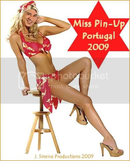 MISS PIN UP Portugal 2009 The Winner
