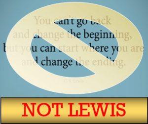 Ccslq 41 Go Back And Change Essential Cs Lewis