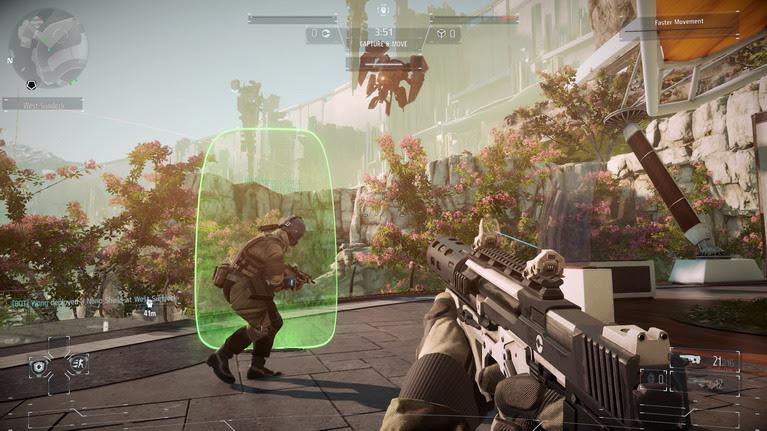Η προσοχή στη λεπτομέρεια διατηρείται στο multiplayer.