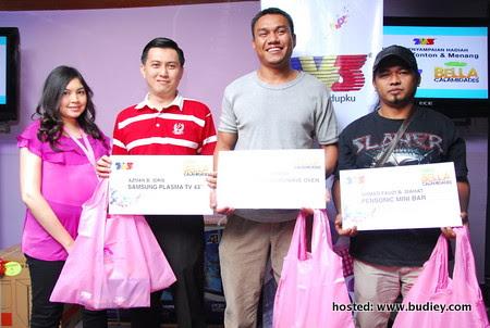 Para Pemenang Peraduan Telenovela 'Bella Calamidades'