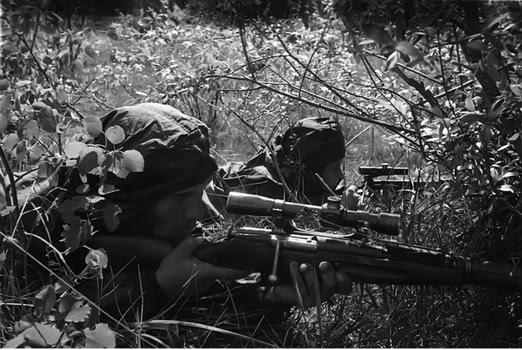 Советские снайперы против Вермахта