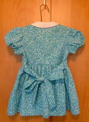 Vintage Childs Dress back