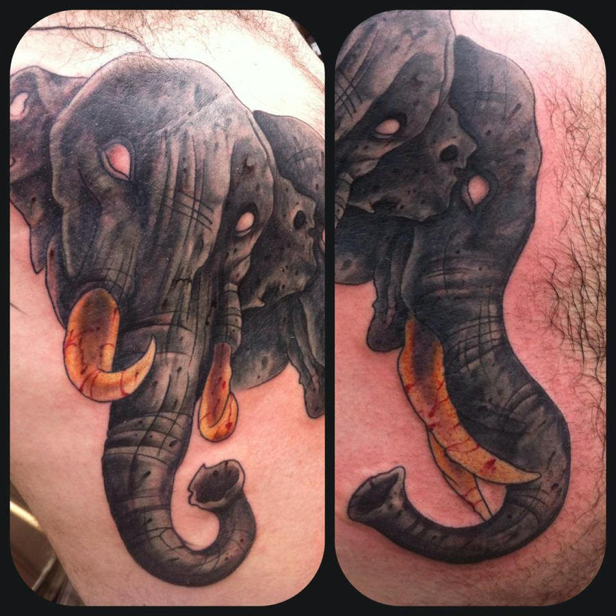 All About What Does A Threeheaded Elephant Tattoo Mean Quora