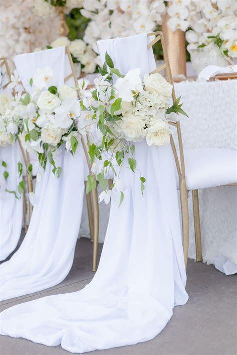 All White Wedding Theme   Wedding Ideas by Colour   CHWV