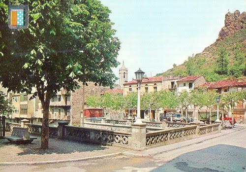 Postal d'època de Ribes de Freser (Girona)