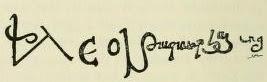 File:Signature of Leo I of Armenia (De Morgan, History of the Armenian People).jpg