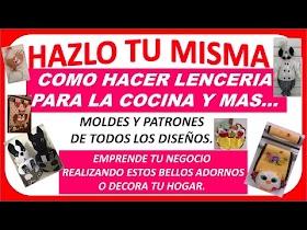 VÍDEO DE LENCERÍA PARA COCINA