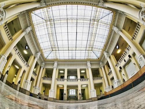 BME K épület, aula