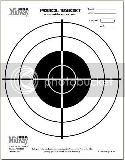 VWVortex.com - Printable Shooting Target Collection