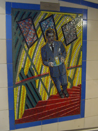 Hitchcock Leytonstone London Underground Mosaics - Glowing Milk