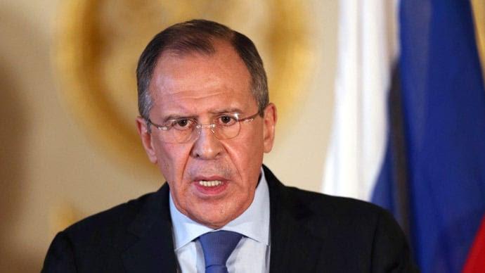 El canciller ruso, Sergei Lavrov